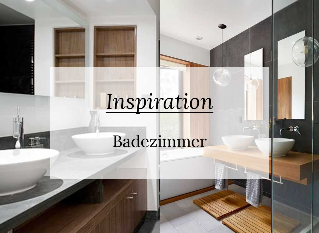 Inspiration: Badezimmer in Holz + Grau - living with ...